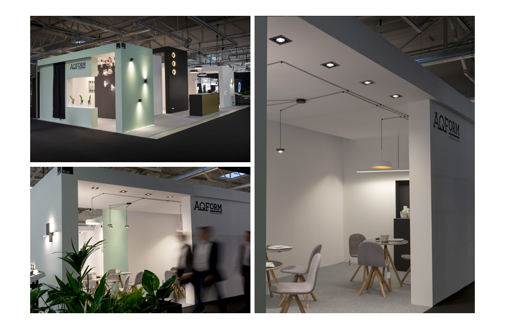 Exhibition Stand Lighting Home : A short summary of the aqform exhibition at the warsaw home