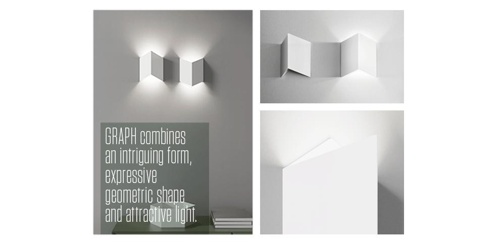 GRAPH to połączenie intrygującej formy, mocnej kreski i efektownego światła.